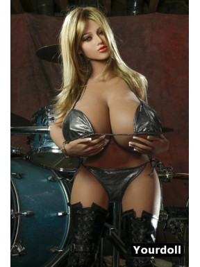 Sex doll with gigantic bust - Cassandre – 4ft 11in (150cm)