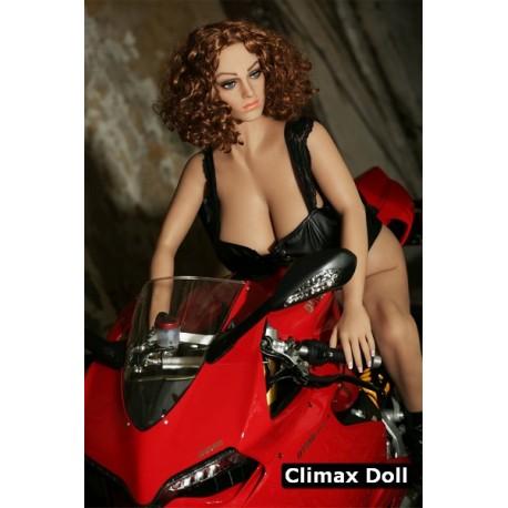 Climax doll biker with an enormous butt - Yolanda – 5ft (155cm)