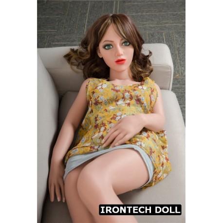 Flexible IRONTECH DOLL TPE model - Alisa - 4ft 7in (142cm)