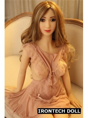 Doll with ultra realistic bust - Sandra - 5ft 1in (155cm)