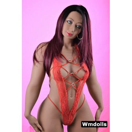 Black muscular Sex doll from WMDOLLS - Oprah – 5.1ft (156cm) B-Cup