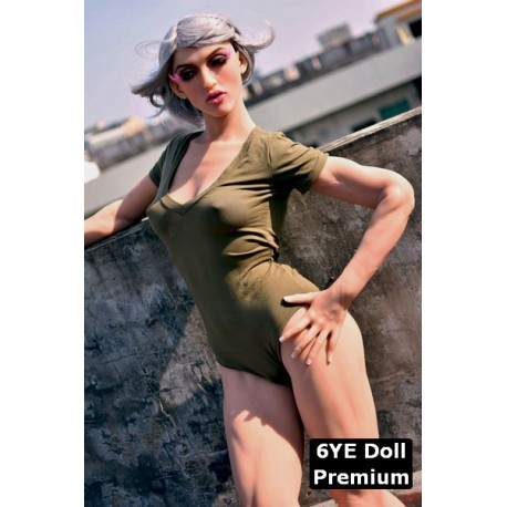 6YE Premium doll with sculpted muscles - Darcy – 5.4ft (163cm) B-Cup