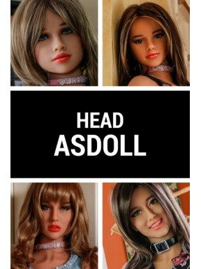 Sex doll Head - AS DOLL
