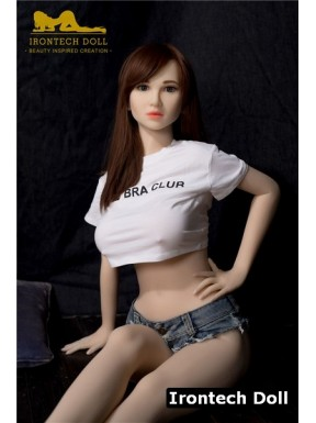 IronTech Sex doll with small buttocks - Lora – 5ft 1 (157cm)