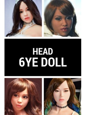 Sex doll Head - 6YE Premium