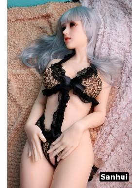 Platinum Silicone Sanhui Doll - Emmie – 5.2ft (160cm)