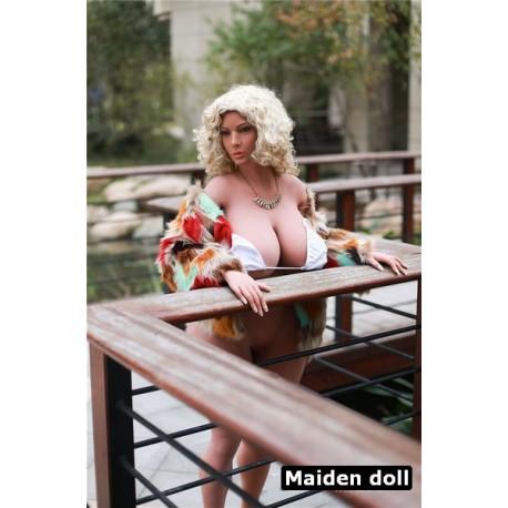 """FAT TPE doll from Maiden Doll - Gwyneth – 5.6"""" (162cm)"""