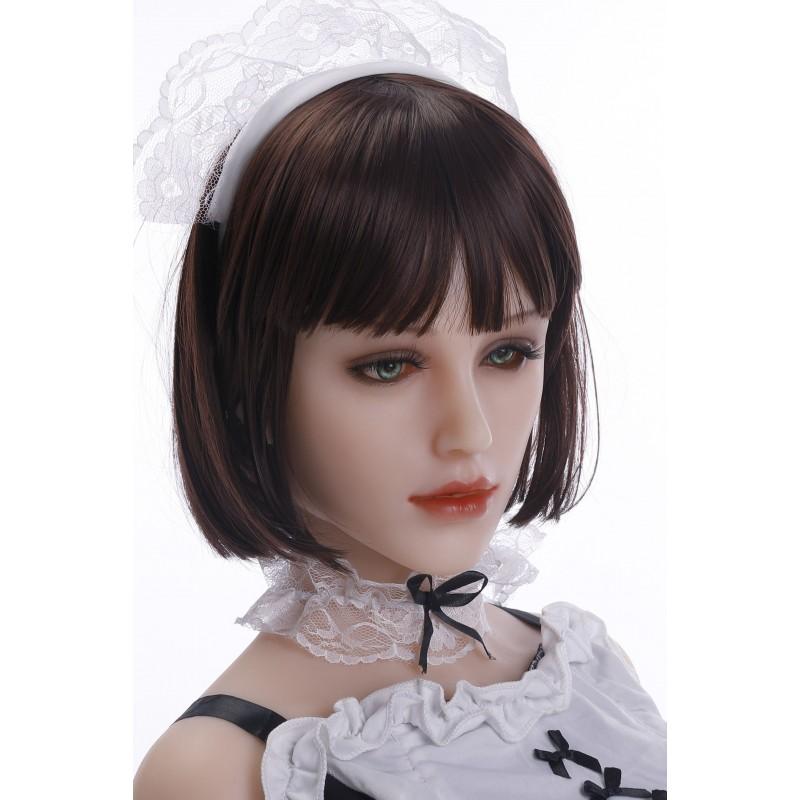 Maid Doll  Silicone Sanhui Doll - Head 4  52Ft 158Cm-1623