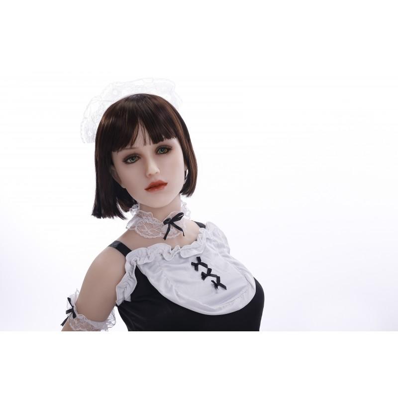 maid doll silicone sanhui doll head 4 158cm. Black Bedroom Furniture Sets. Home Design Ideas