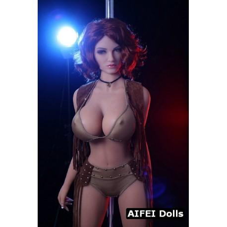 TPE AF Doll with big breasts - Madeline – 5.2ft (163cm)