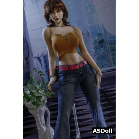 TPE sex model with small breasts - Aurora - 5ft 2in (161cm)