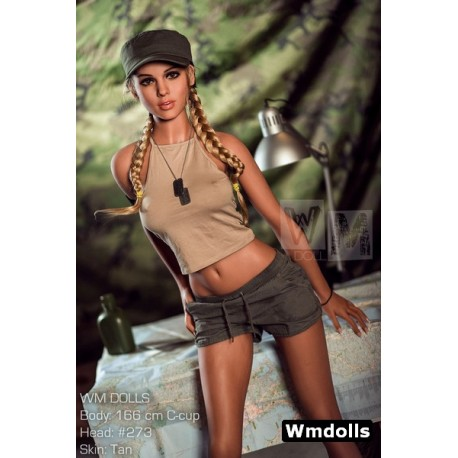 TPE Explorer doll from Wm doll with a C-Cup - Larah – 5.4ft (166cm)