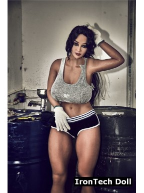 Sexy garage mechanic doll in TPE - Connie – 5.2ft (158cm)