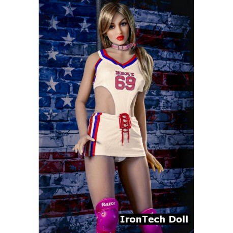 Ultra-realistic sophisticated IronTech Doll - Yael – 5.5ft (168cm)