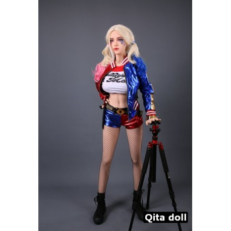 Qita doll molded in TPE - Harley Quinn Cos Edition - 5.5ft (168cm)