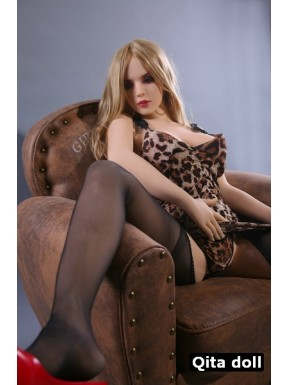 Blonde and sexy - Qita doll in TPE – 5.5ft (168cm) - Camille