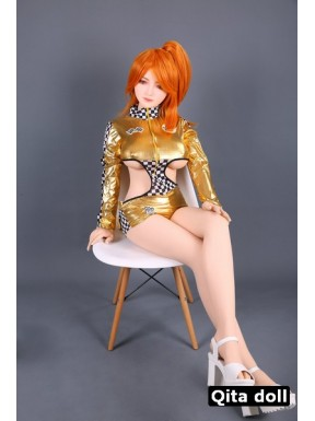 Chinese redhead TPE doll - Marie-Chan – 5.5ft (168cm)