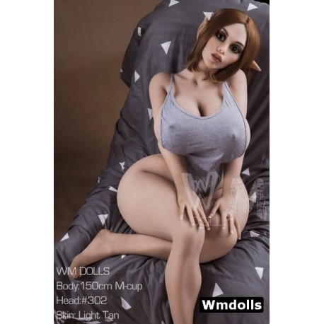 Voluptuous TPE elf doll from WM Doll - Shany – 4.9ft (150cm) M-Cup