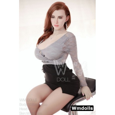 Hybrid Silicone & TPE doll from Wmdolls - Fannie – 5ft 6 (168cm)