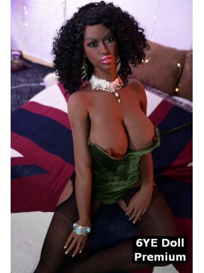 Black 6YE Premium Sex doll - Jahia – 5ft 2 (161cm) E-CUP
