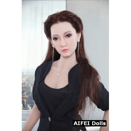 TPE doll with silicone face from AF Doll - Akemi – 5.2ft (160cm) B-Cup