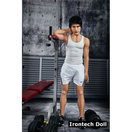 Sporty male love doll in TPE - Charles – 5.3ft (162cm)