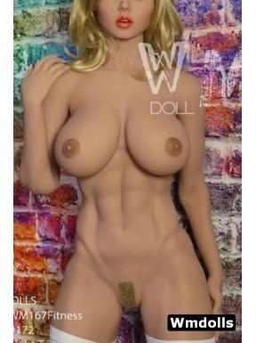 WMDOLL Fitness body 5ft 5 - 167cm