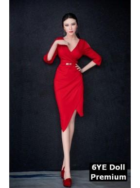6YE Premium sexdoll (silicone face) - Titania – 5.6ft (170cm) C-Cup