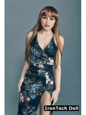Sensual brunette Irontech Doll - Sarah – 5.4ft (165cm)