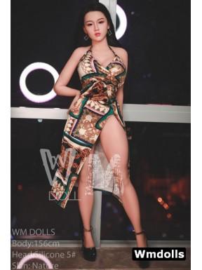 WM Sex Doll H-Cup – Silicone Head N°5 – 5.1ft (156cm)