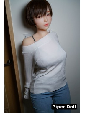Silicone doll from PiperDoll with gel bust - Akira – 5.2ft (160cm) G-Cup