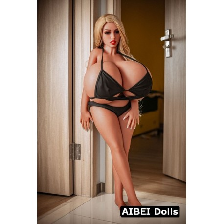 Sexy dwarf with huge breasts AIBEI Doll - Flo – 3.6ft (110cm)
