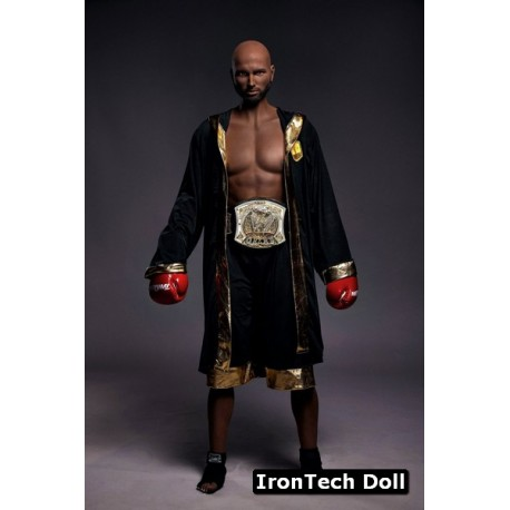 Black Gay Doll from IronTechDoll - Kevin – 5.7ft (175cm)
