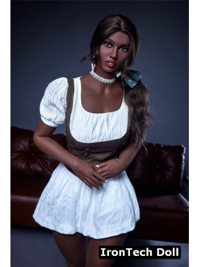 African RealDoll from IronTechDoll - Rebecca – 5.4ft (164cm) Plus
