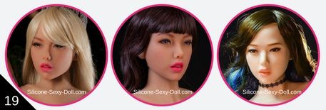 6YE DOLL Premium - Head 19