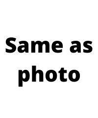 Same as photo