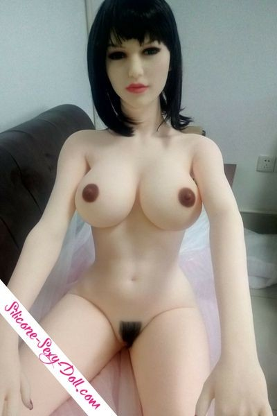 Hairy vagina sex doll , photo after production